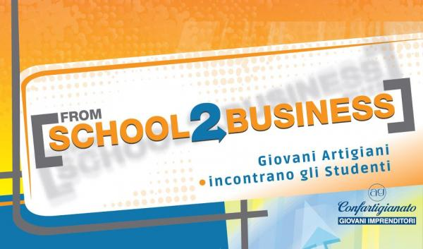 "Logo ""From School 2 Business"""